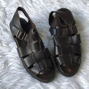 MIA Chunky Leather Sandals